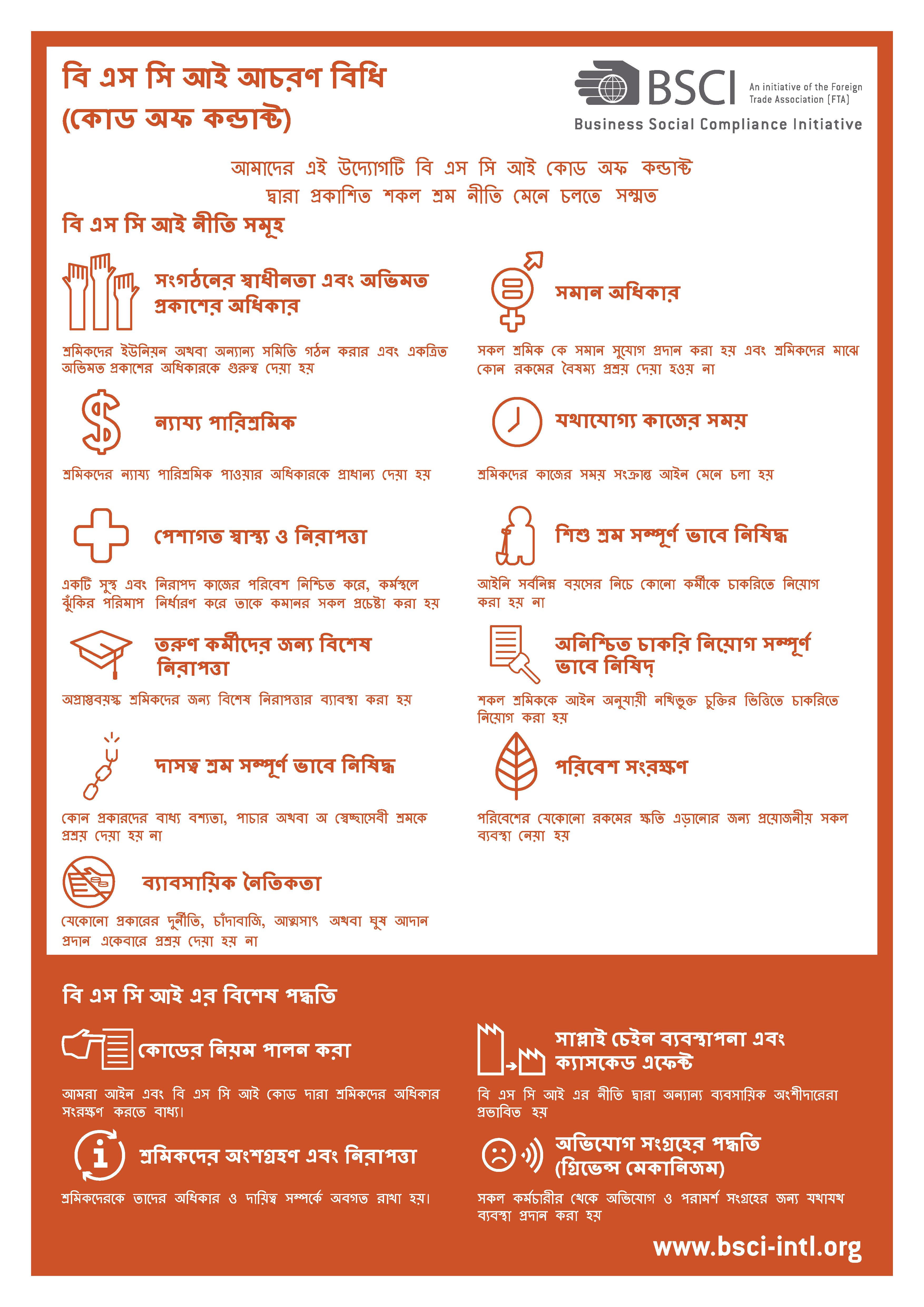 BN-BSCI Code of Conduct Poster Version